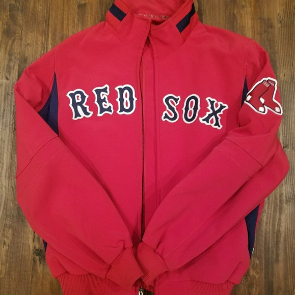 low cost 999c4 c1740 Majestic Other - Men s Red Sox jacket